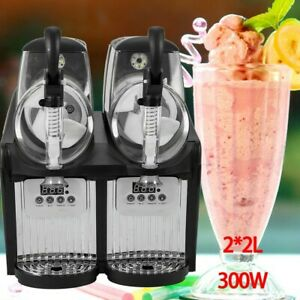 Frozen Drink Slush Slushy Making Machine Juice Smoothie Maker 2 2l