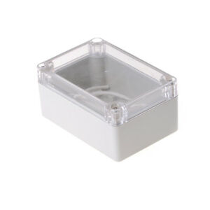 Hot 100x68x50mm Waterproof Cover Clear Electronic Project Box Enclosure Case W4