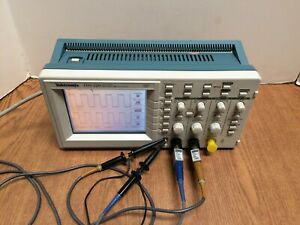 Tektronix Tds220 100 Mhz 2 Channel Digital Oscilloscope With 2 Probes