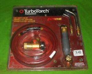 Turbotorch X 4b Torch Kit Swirl For B Tank Air Acetylene 0386 0336 A 5 A 14 Tips