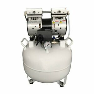 40l 3 4hp Dental Clinic Noiseless Oil Free Oilless Air Compressor For Chair