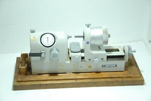 Mitutoyo Micrometer Bench Comparator 162 101 Precision 0 001mm 0 25mm