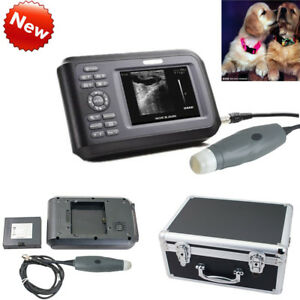 Digital Vet Veterinary Ultrasound Scanner Machine For Small Animal With Box Fda