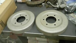 Model T Ford Tt Truck Rear Wheel Brake Drums One Pait Great Condition