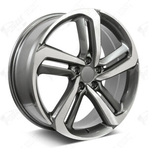 20 Exl Style Machined Gunmetal Wheels Fits Honda 5 lug Civic Accord