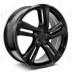 19 Exl Style Gloss Black Wheels Fits Honda 5 lug Civic Accord