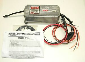 Msd Sci 6a Ignition Box P N 6300 Multiple Spark Discharge Excellent Condition