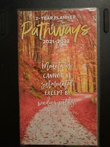 2021 2022 Pathways Inspirational Quotes 2 year Pocket Planner Calendar Monthly