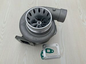 High Performance Billet Turbocharger Gt35 T66 800hp T4 Flange 81 Hot 70 Front