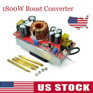 1800w 40a Dc dc Boost Converter Step Up Power Supply Module Constant Current Us
