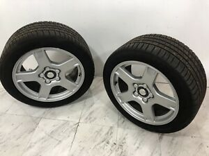 97 04 C5 Corvette Rear Wheels Tires Michelin Pilot Sport A S 3 275 40zr18