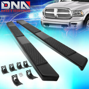 For 2009 2020 Dodge Ram Truck Quad Cab 5 Coated Ss Step Nerf Bar Running Boards