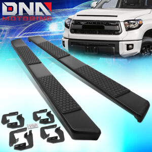 For 2007 2020 Toyota Tundra Crewmax Cab 5 Coated Ss Step Nerf Bar Running Board
