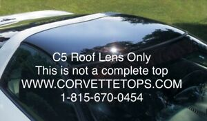 C5 97 04 Corvette Targa Top Roof Lens Only