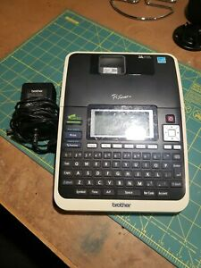 Brother P touch Model Pt 2730 With Charger And 12mm 0 47 Liaminated White Tape