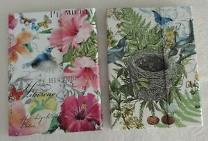 Lot 2 Michel Design Works Sticky Notes Flags Memo Pads Collections Botanica
