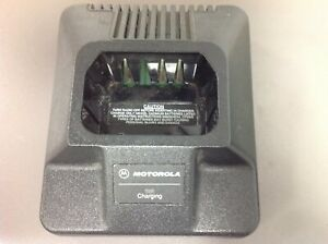 Motorola Charger Htn9702a And Power Cord For The P1225 Radio