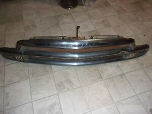 1951 Chevrolet Passenger Car Grille With Park Light Assemblies Good Daily Driver