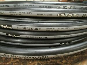 Parker Hydraulic Hose 487tc 6 3 8 100 Two Wire Hose Global Core Tough Cover