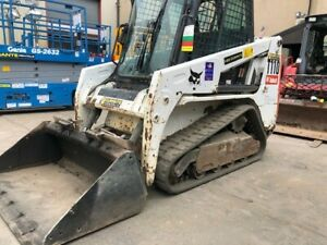 Bobcat T110c Track Loader Enclosed Earth Moving Skid Steer Excavator Heat A c