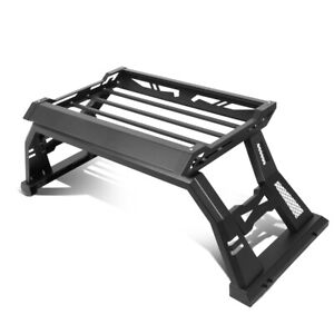 For 2005 2020 Toyota Tacoma Pickup Truck Roll Bar Top Luggage Carrier Basket
