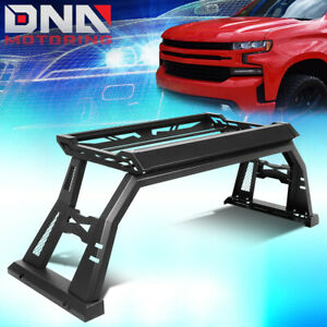 For 2007 2018 Toyota Tundra Pickup Truck Bed Rack Roll Bar Luggage Carrier Box