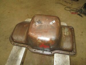 Ih Farmall W450d 400d Md Smd Used Nice Oil Pan Antique Tractor 2