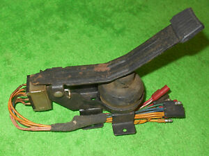 1962 63 Fairlane Falcon Ranchero Comet Nos 2 speed Windshield Washer Pedal Pump