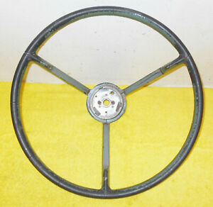 1958 1959 Ford Custom 300 Fairlane 500 Galaxie Original 3 Spoke Steering Wheel