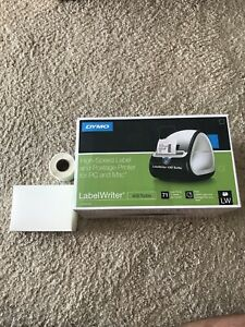 Dymo Labelwriter 450 Turbo Thermal Label Printer 1750283 New Free Shipping