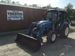 2017 Ls Xr4145 4x4 Compact Tractor W Cab Loader Super Clean Only 200hrs