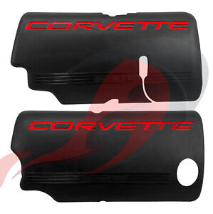 1999 2004 C5 Corvette Gm Lh Rh Ls1 Fuel Rail Cover Set 12561502 12561503