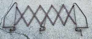 Original Ford Model A T Era Accessory Scissor Luggage Rack Running Board Mount