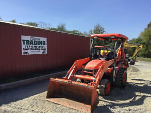 2016 Kubota B26 4x4 Hydro Compact Tractor Loader Backhoe Clean Only 900hrs
