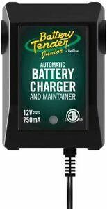 Battery Tender 12 Volt Junior Automatic Battery Charger Black green 12v 750ma