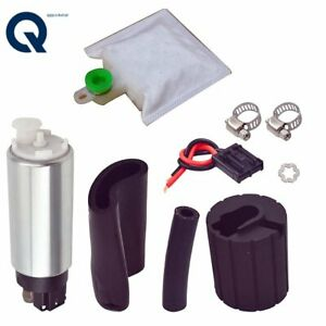 New 255lph High Performance Pressure Flow Electric Fuel Pump Kit For Gss342