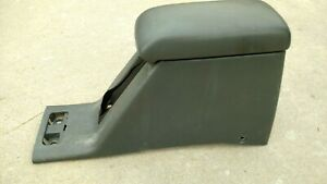 Oem 92 95 Honda Civic Rear Center Console E brake Cover Armrest Gray Lid Factory