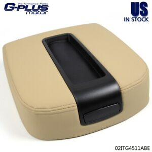 Front Center Console Armrest Lid Assembly Beige For Chevy Gmc Silverado Sierra