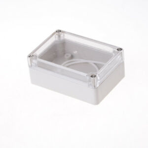 85x58x33 Waterproof Clear Cover Electronic Cable Project Box Enclosure Case W4