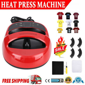 Heat Press Sublimation Transfer Printing Machine T shirt Hat Printer Diy Us Plug