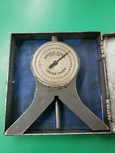 Miracle Point Angle And Center Finder Magnetic Base Protractor Model 900