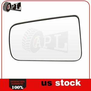 Flat Mirror Glass For 2008 2011 Ford Focus Left Side Chrome