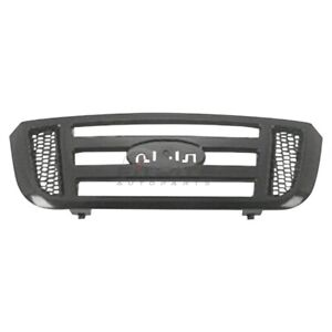 New Grille Smooth Black Fits Ford Ranger 2006 2011 Fo1200481 467000557