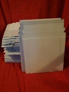74 White Dvd Mailing Envelopes Cd Sleeves Packaging Ec