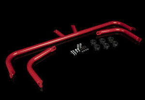 Braum Racing Gloss Red Seat Belt Harness Bar Kit For Nissan 370z Z34 09 New