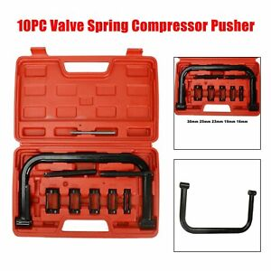 10pc Valve Spring Compressor C Clamp Service Kit Automotive Tool Motorcycle Atv