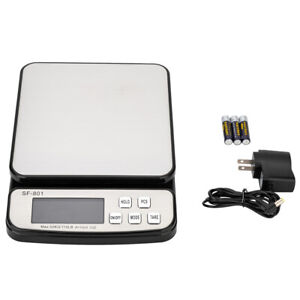 Sf 801 Digital Postal Shipping Tabletop Scale Weight Postage Kitchen Counting