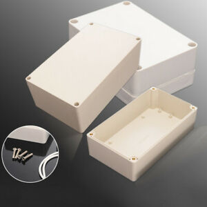 Waterproof Abs Plastic Electronics Project Box Enclosure Hobby Equipment Cas F1