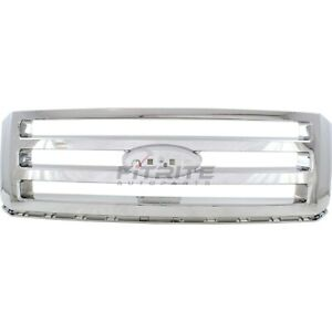 New Grille Chrome Fits Ford Expedition 2007 2014 Fo1200494 11745703