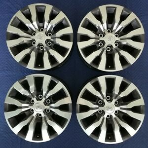Toyota Tacoma Limited Oem 18 Wheels 2020 Super Clean 4runner